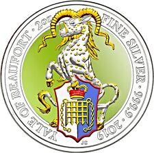 Großbritannien 5 Pfund 2019 Yale von Beaufort Queen's Beasts Münze in Farbe