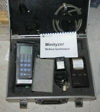 Analyseur / testeur de combustion MINILYSER EUROJAUGE