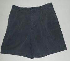 VINTAGE RALPH LAUREN POLO GOLF Womens Logo Shorts Flat Front BLUE/BLUE PONY 10