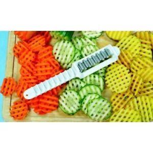 Garniermesser Wellenmesser Wellenschneider für Obst und Gemüse Reproplast