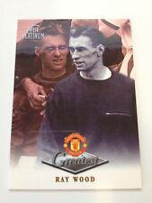 Manchester United Futera Platinum 1999 Greatest Card (RW)