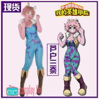 Ashido Mina Cosplay Fighting Uniform Bodysuit Anime My Hero Academia costume