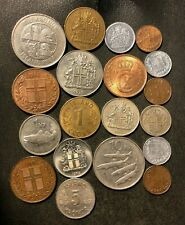 OLD ICELAND COIN LOT - 1940-Present - 18 Low Mintage Coins - Lot #O22