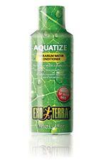 Exo Terra Terrario de líquido aquatize Acondicionador de agua 120ml reptil tratamiento