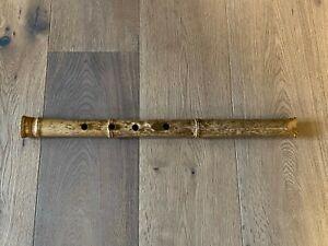 Japanische Shakuhachi, Bambus-Flöte handgefertigt in Deutschland