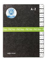 Pagna Pultordner A4 A-Z schwarz Hartpappe , neu , Vorordner Unterschriftenmappe