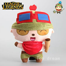 League of Legends LOL Lovely Teemo Plush Toy Stuffed Soft Doll 13'' Kids Gift