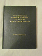Plaistow NH vital records Earliest to 1900 with Supplements of interest NEW 2007