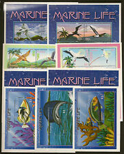 TUVALU :2000 Marine Life sheetlets+3 xMS SG877-912+MS913 unmounted mint