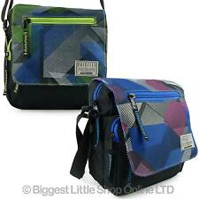 Dynamic Design Small Canvas Cross Body/Messenger Bag Unisex by Obsessed