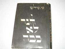 Hebrew Ha-Ner Lo Kavah (The Candle Was Not Extinguished) Novel by SHIN SHALOM