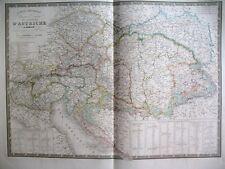 AUTRICHE EMPIRE CARTE ATLAS BRUE GRAVURE KARTE 1844