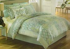 King*J. Queen*Malta Comforter 5Pc Set Pillow Sham Dust Ruffle Bed Skirt