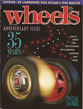 Wheels May 88 Civic v Corolla v Excel v Laser, VN pics