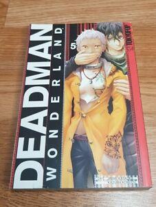 Deadman Wonderland Volume 5 English Manga Tokyopop