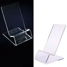 10pcs General Clear Acrylic Mount Holder Display Stand for Mobile Cell Phone