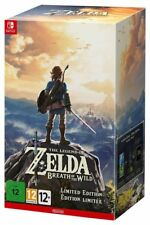 THE LEGEND OF ZELDA BREATH OF THE WILD LIMITED EDITION NINTENDO SWITCH NUOVO ITA