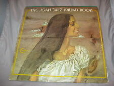 JOAN BAEZ - The Joan Baez Ballad Book (2LP, 1972) Very Good+