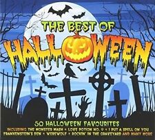 Best of Halloween Various Artists Double CD European One Day Music 2013 50