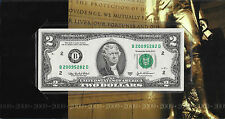 2009 Anniversary/Birthday $2 Note, BEP Collection! UNCIRCULATED! New York!