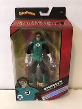 DC COMICS MULTIVERSE - Super Friends Green Lantern w/ Collector Card & Stand NEW