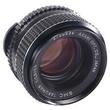 Asahi SMC Takumar 55mm f1.8 M42 Pentax Lens for Film and Digital