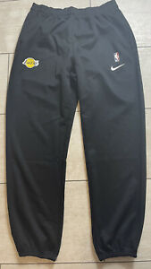 New Los Angeles Lakers Nike Warm Up Player Issued Pants Size XXLT Black
