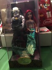 Ariel & Ursula Doll Set Disney Fairytale Designer Collection -  BRAND NEW!