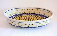 Geschenk Auflaufform - Servierschale aus Bunzlauer Keramik Handarbeit nh3215