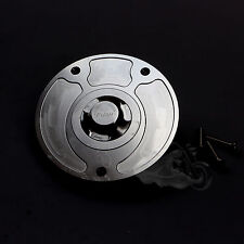 CNC Keyless Gas Fuel Tank Cap Covers Fit For Honda  RVF400 VFR400 VTR1000 CBR600