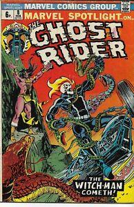 MARVEL SPOTLIGHT ON GHOST RIDER (1972 series) #8 VG minus (3.50) Back Issue