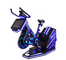 Commercial Virtual Reality Spinning Bike Arcade 360 Cinema Exercise VR SEE VIDEO