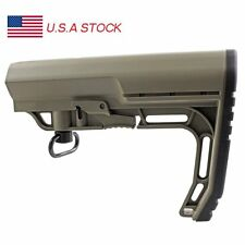 MFT Mission Stock Tactical Tan Rifle Minimalist Adjustable Stock Mil-Spec