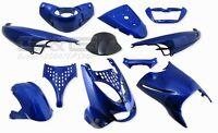 Cubierta Kit de Disfraces 11 Piezas Revestimiento en Azul Aprilia SR50 Sr 50 125
