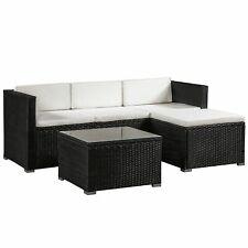 Gartenmöbel Polyrattan Lounge  Sitzgruppe Rattan Gartenset Rattanmöbel - B-Ware