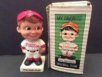 1960 Philadelphia Phillies White Base Bobblehead with Box