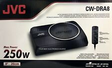 "NEW JVC CW-DRA8 Compact 8"" Powered Subwoofer System"