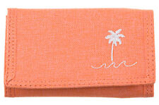 "BRAND NEW + TAGS BILLABONG GIRLS TRI-FOLD WALLET SURF ""PALM SPRINGS"" PEACH BNWT"