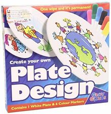 Great Gizmos 7017 Create Your Own Plate Design with Pens