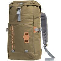 Pentagon Logo Moho Gym Bag Sport Shoulder Pack Travel Cadet Backpack Cinder Grey