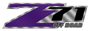 4x4 Decals Sticker Chevy Silverado 1500 Diamond Plate Graphic Kit z71 Off Road