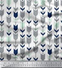 Soimoi 44 Zoll Pfeil Poly Satin-Gewebe-Craft 105 Meter Gsm Schneiderei