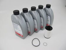 DSG Service Kit OEM VW ATF Transmission Dual Clutch 40k Fluid Filter Washer FEBI
