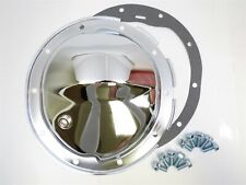 "Chrome Steel Differential Cover GMC Sierra Silverado 1500 Rear 8.5"" RingGear"