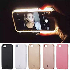 Luxury LED Light Up Selfie Phone Case for iPhone 6 Plus, GOLD