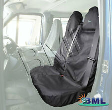 FORD TRANSIT 1965 TO 2014  VAN  BLACK  DOUBLE SEAT COVER .PART- TRDBLKFD