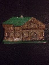 Antique Cast Grey Iron Toy House