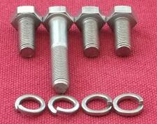 Complet Fermeture Set 6 X Mgb B Moteur Série Kits en Acier Inoxydable - 18v