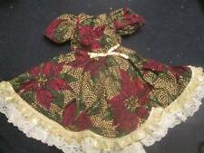 """Doll Clothes 18"""" ~ Hand Made Holiday Dress Christmas #192"""