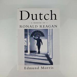 Dutch A Memoir of Ronald Reagan by Edmund Morris Signed Hardback Book